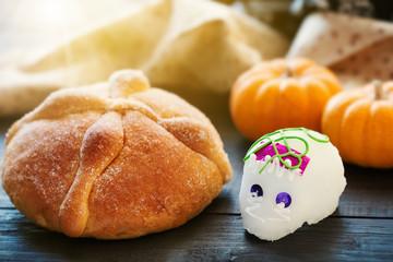 Sugar Skull and Bread of Dead