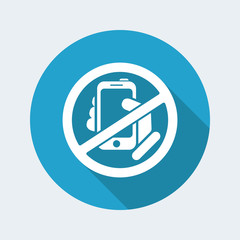 Forbidden phone icon