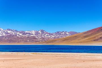 En algún lugar del desierto de Atacama y San Pedro de Atacama en el norte de Chile