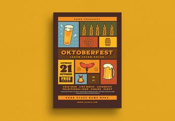 Oktoberfest Event Flyer Layout