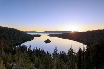 Sunrise at Emerald Bay, Lake Tahoe