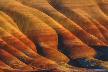 Ridges of the Painted Hills