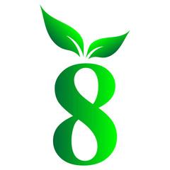 Arabic number, 8