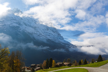 Wall Mural - Swiss alps in the autumn, Switzerland