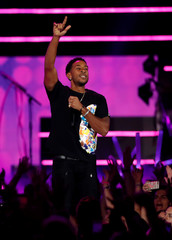 Ludacris performs during the iHeartRadio Music Festival at T-Mobile Arena in Las Vegas