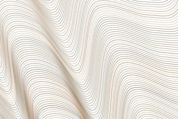 Abstract colored geometric line, curve & wave pattern. Texture, repeat, wallpaper & surface.