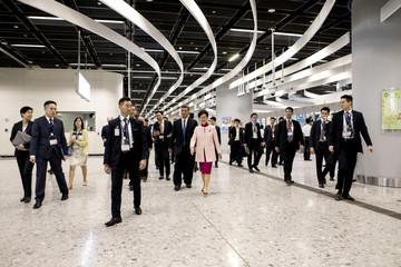 Guangzhou-Shenzhen-Hong Kong Express Rail Link's West Kowloon Terminus Opening Ceremony