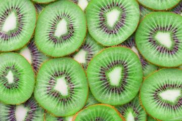Kiwi slice for background