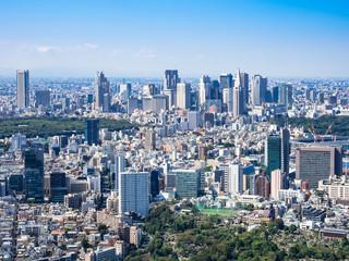 東京都市風景 新宿副都心周辺
