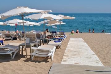 Fototapeta Wakacje na plaży obraz
