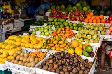 ホイアン 果物市場