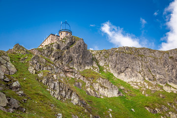 Wall Mural - View to the top of Kasprowy Wierch in Tatra mountains