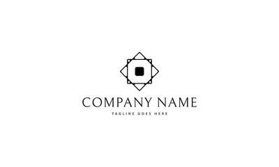 Square vector logo image