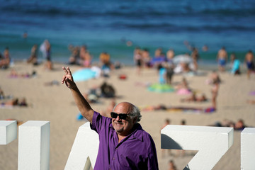U.S. actor Danny DeVito takes part in a photocall to promote the feature film Smallfoot at the San Sebastian Film Festival