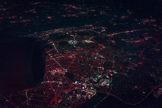 Flying Above NY/NJ