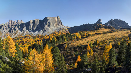 Dolomites, Italy, around the Sella massif