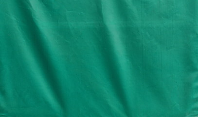 green tarpaulin texture background