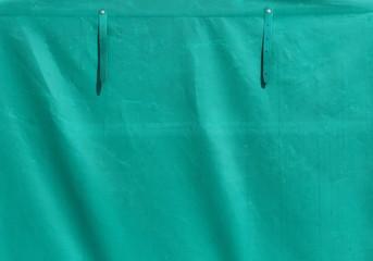 green tarpaulin texture background