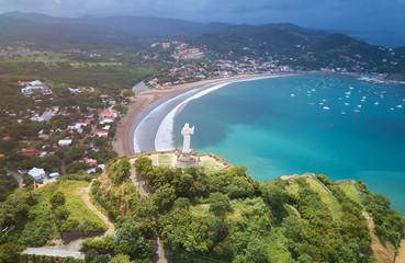 Bay in San Juan Del Sur town