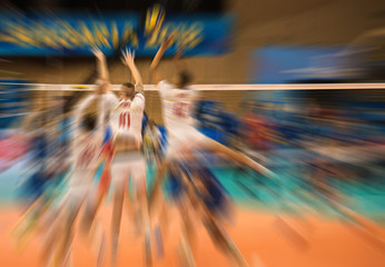 Volleyball match, World Cup