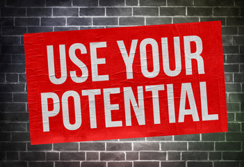 use your potential - poster concept