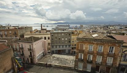 The colorful face of Cagliari