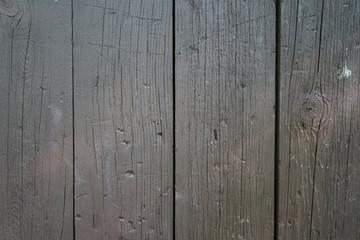 Dark brown wooden panels.
