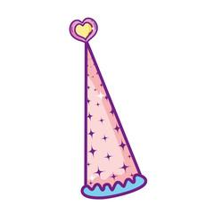 Fairy hat cartoon