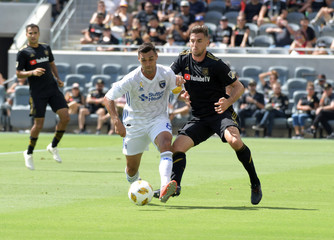 MLS: San Jose Earthquakes at Los Angeles FC