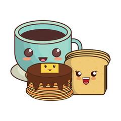 kawaii pancakes design