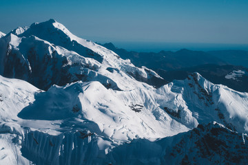 Denali National Park (Mount Denali aerial view)