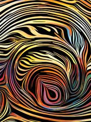 Woodcut Paint Pattern