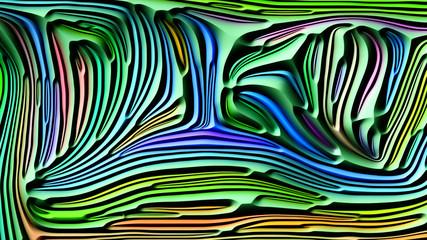 Virtual Abstract Shapes