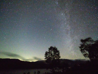 野反湖の星空