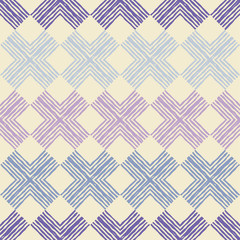 Ethnic boho seamless pattern. Traditional ornament. Geometric background. Tribal pattern. Folk motif. Can be used for wallpaper, textile, invitation card, wrapping, web page background.