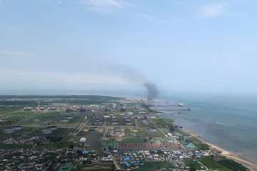 A view shows the Bonny oil terminal in the Niger delta which is operated by Royal Dutch Shell in Port Harcourt