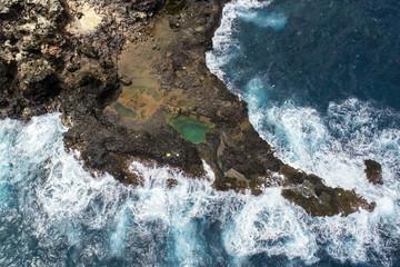 Olivine Pools - Aerial View - Island of Maui, Hawaii