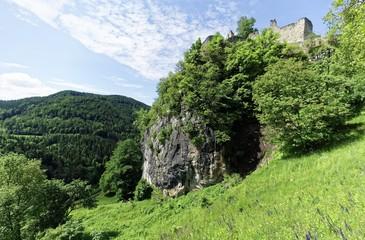 Castle Ruin Rabenstein