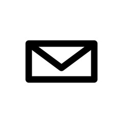 Mail vector icon isolated on background. Trendy sweet symbol. Pixel perfect. illustration EPS 10.