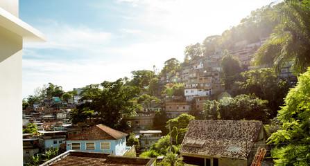 Favela in Rio, Brazil