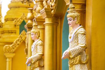 The spirit of angel in Myanmar culture