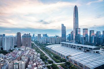 Shenzhen Futian CBD skyline