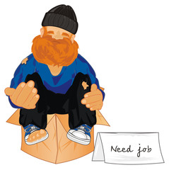 homeless, poverty, beggar, beggar man, person, ask, ask for help, help me, ask for food,  street, paper, banner