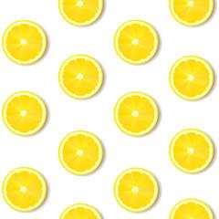 Lemon Isolated White Background