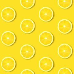 Lemon Isolated Yellow Background