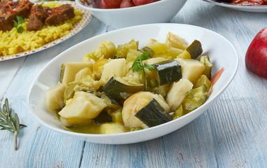 Azerbaijani badimjan borani