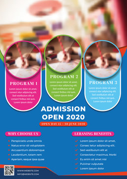 Education, Admission, Back To Shool Flyer Creative Design