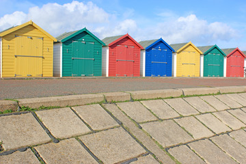Beach Huts, Dawlish Warren