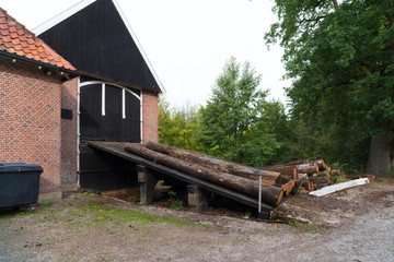 sawmill exterior in the netherlands