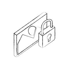 photo image security data network isometric